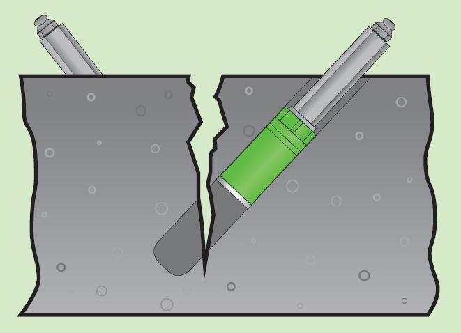 Naprawa rys i pęknięć metodą iniekcji 1