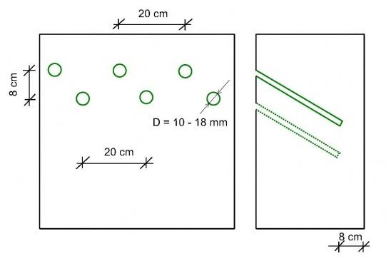 Zasady wykonywania iniekcji ciśnieniowej dwurzędowej jednostronnej