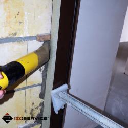 Pompka Izopress Easy z wylotem płaskim do materiałów cementowych