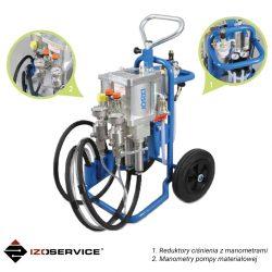Dwukomponentowa pompa pneumatyczna DESOI AirPower M25-3C VA